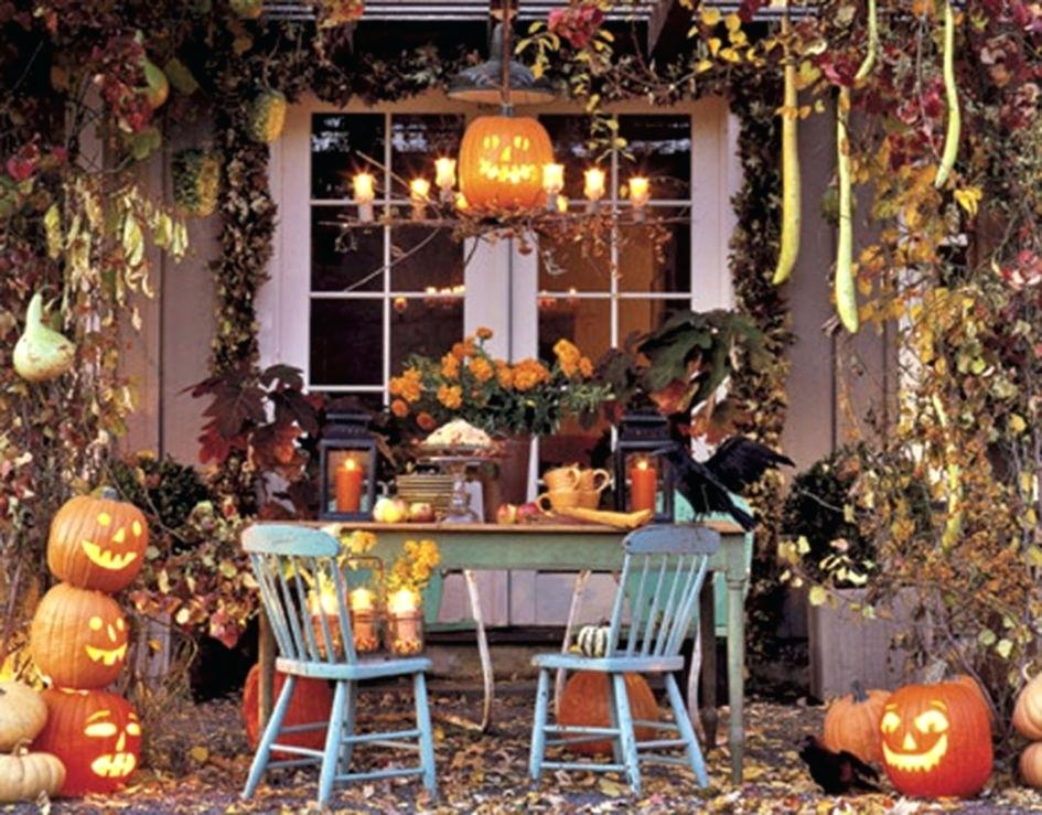 Decoration hallowen maison