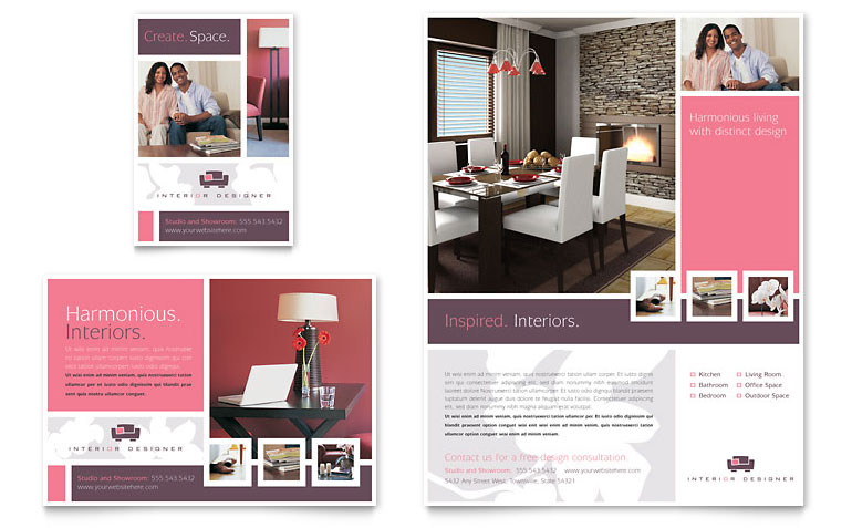 Decoration flyer design