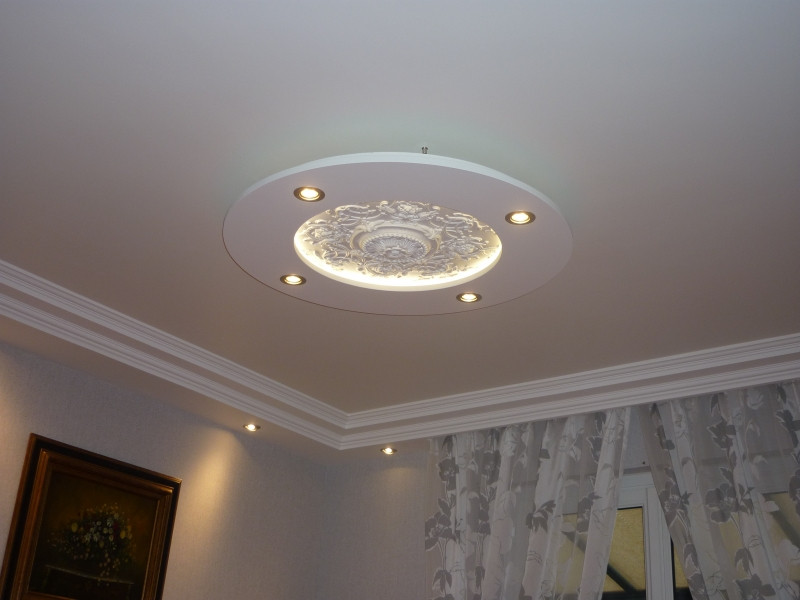 Decoration plafond design en platre