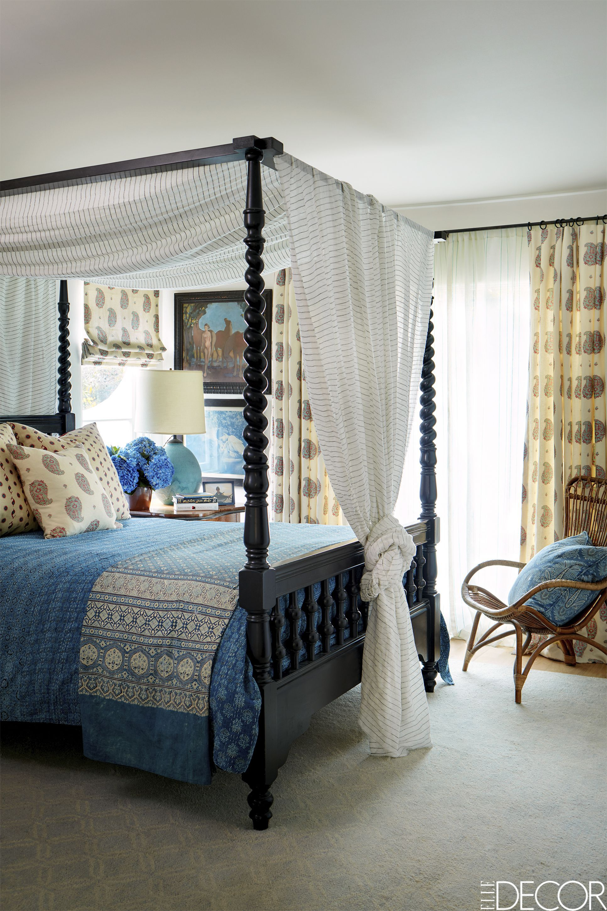 Room decoration with design
